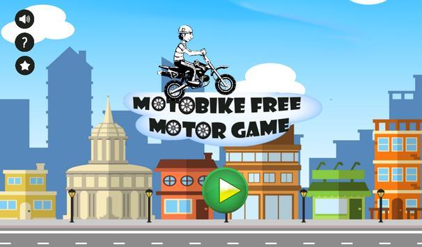 MotoBike - Free Motor Game poster