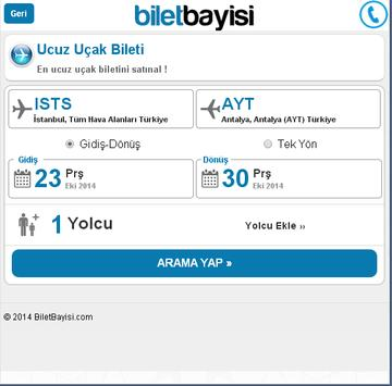 ATLASJET - BiletBayisi.com screenshot 3