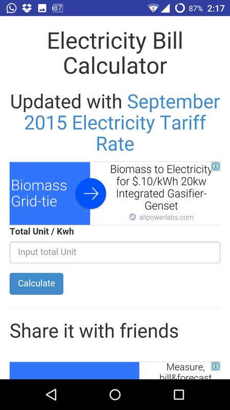 electricity bill calculator bd apk download free productivity app