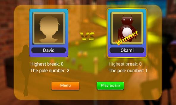 Billiard 8 ball pool and Snooker 2018 screenshot 4