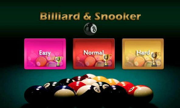 Billiard 8 ball pool and Snooker 2018 screenshot 5