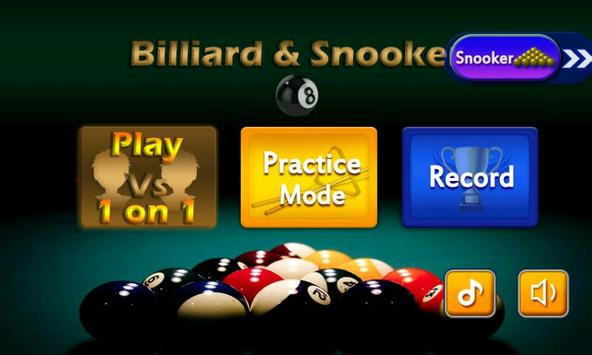 Billiard 8 ball pool and Snooker 2018 screenshot 7