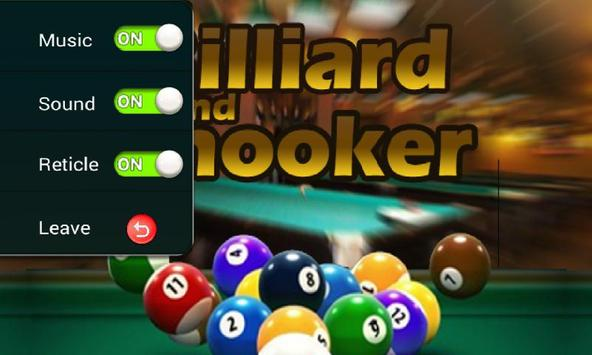 Billiard 8 ball pool and Snooker 2018 screenshot 8