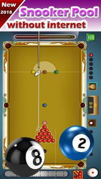 Billiard 8 ball pool and Snooker 2018 screenshot 1