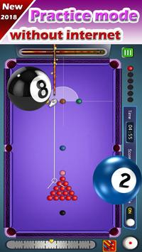 Billiard 8 ball pool and Snooker 2018 screenshot 2