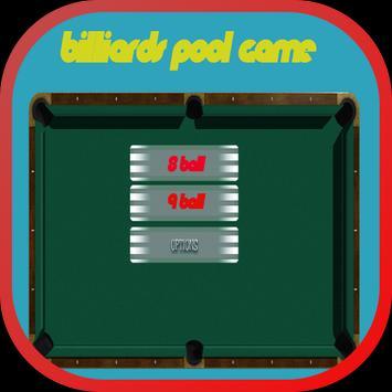 Billiards Snooker Pool Game 15 poster