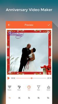 Anniversary Video Maker With Music screenshot 2