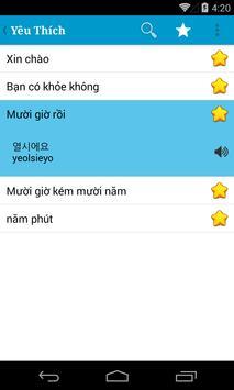 Hoc Tieng Han Quoc giao tiep apk screenshot