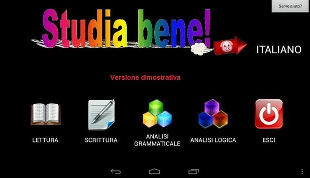 Studia bene! demo [Italiano] poster
