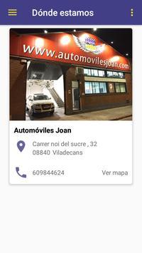 Automóviles Joan apk screenshot