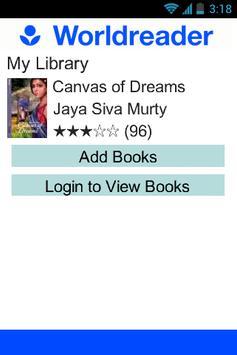 Worldreader - Books & Stories screenshot 5