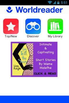 Worldreader - Books & Stories poster