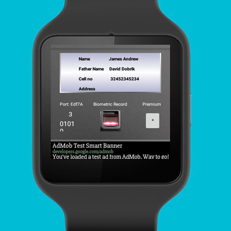 Fingerprint Biometric Test