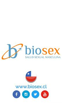 Biosex Chile. Salud Sexual Masculina poster