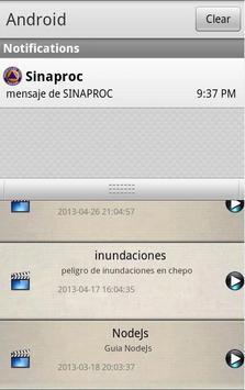 SINAPROC Panama APP screenshot 3