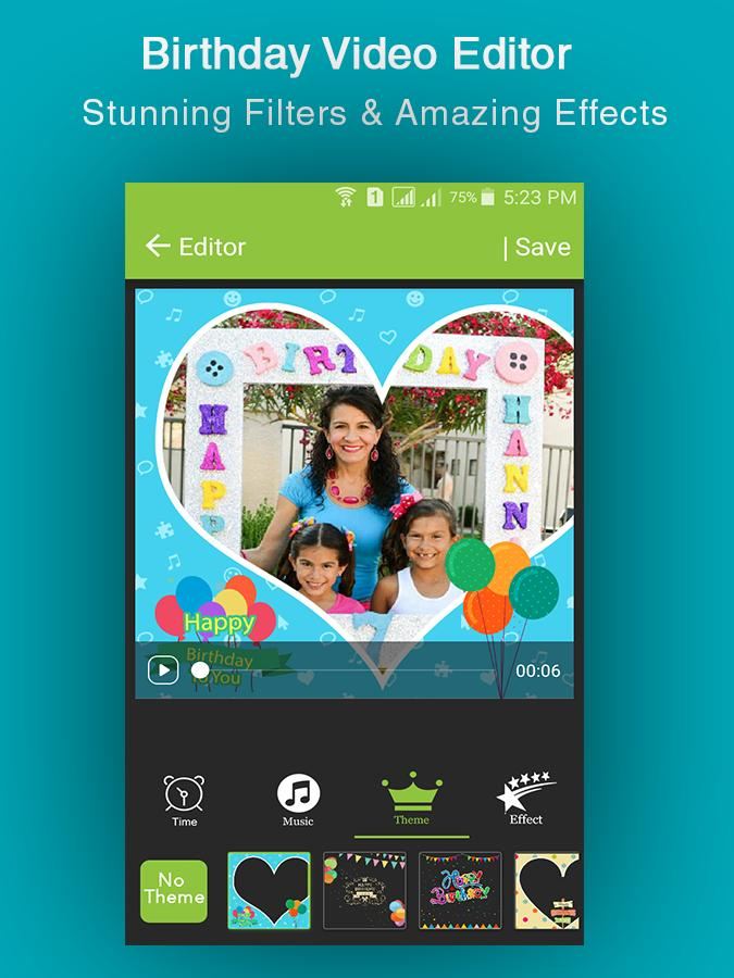 Happy Birthday Video Maker for Android - APK Download