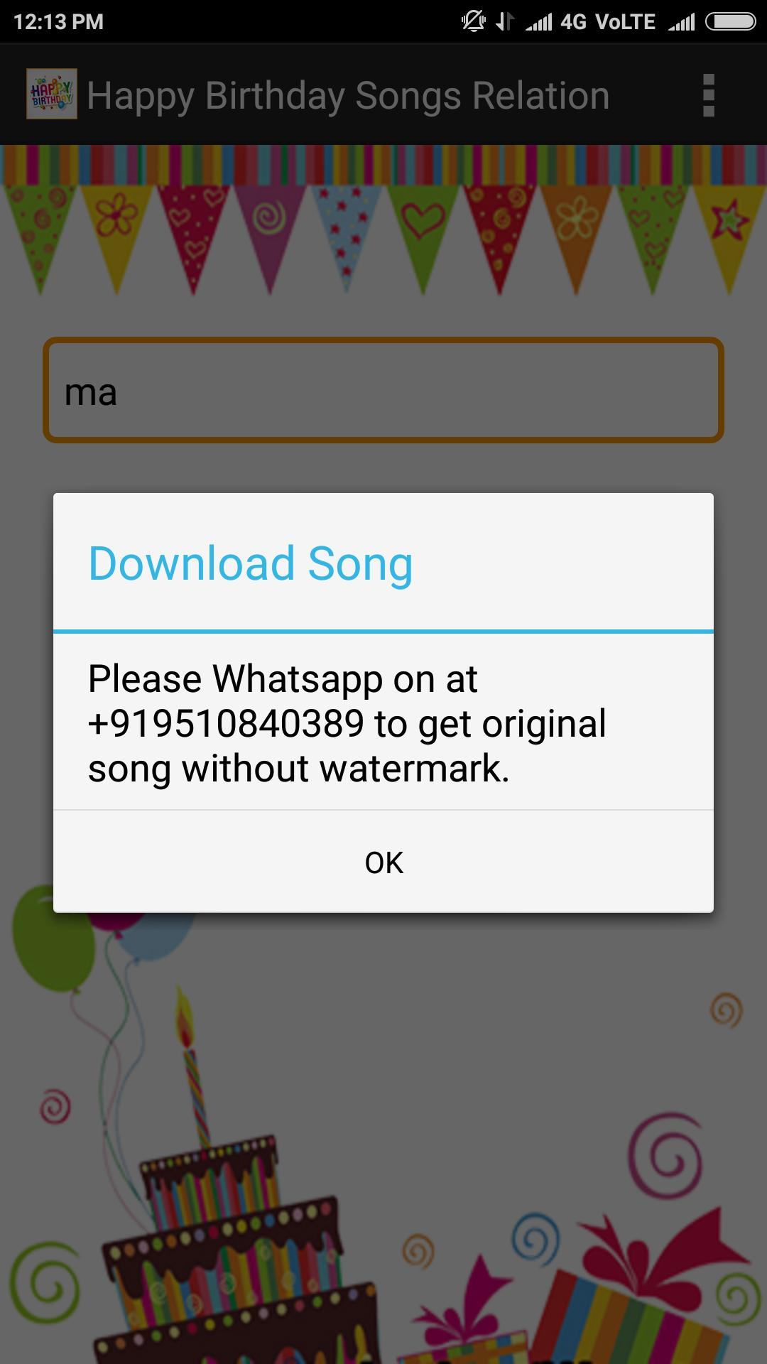 Birthday Songs With Relation for Android - APK Download