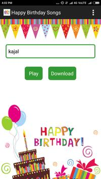 Happy Birthday Songs With Name screenshot 1