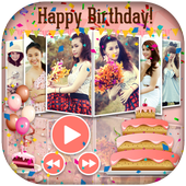Birthday Slideshow with Music icon