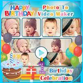 Birthday Photo Video Editor icon