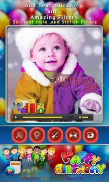 Birthday Photo Video Editor apk screenshot