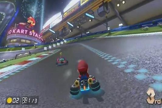 Trick Mario Kart 8 poster