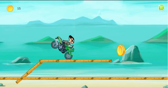 Mr.Pean Bike Jungle apk screenshot
