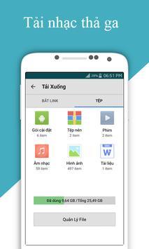 Coc Browser fast downloader apk screenshot
