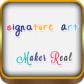 Signature Art Maker Real icon