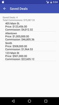 Commission Calculator (FREE) apk screenshot