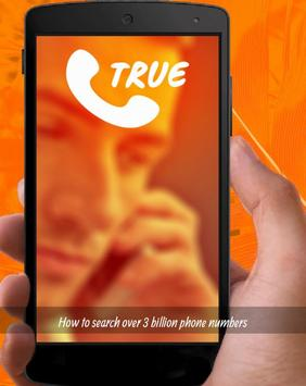 ✅Number Search Truecaller Tips apk screenshot