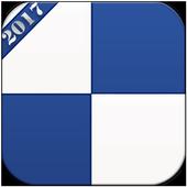 Blue Piano Tiles 2017 icon