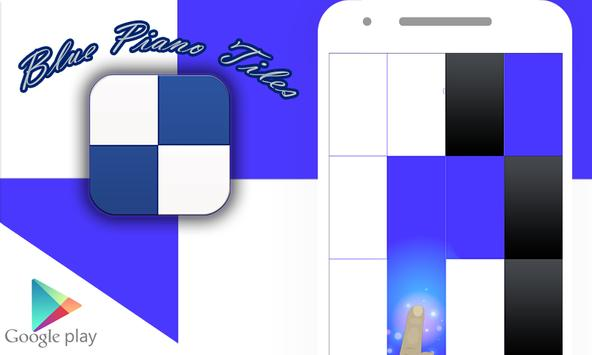 Blue Piano Tiles 2017 poster