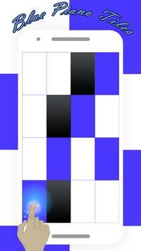 Blue Piano Tiles 2017 screenshot 1