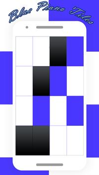 Blue Piano Tiles 2017 screenshot 2
