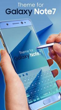 Theme for Samsung Note 7 apk screenshot