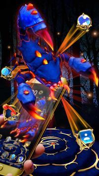 3D Blue Egyptian Scorpion Theme screenshot 2