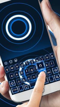 High tech Keyboard Theme poster