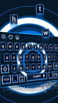 High tech Keyboard Theme apk screenshot