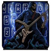 Thunder Rock skull Keyboard theme icon
