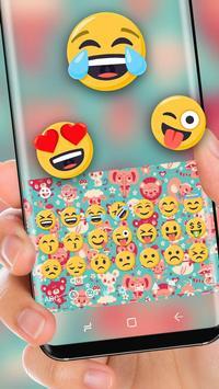 Cute Animal Art Wallpaper Keyboard Theme apk screenshot