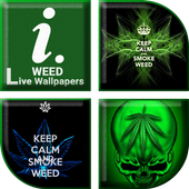 Weed Live Wallpapers icon