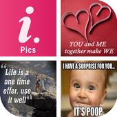 Pics for Instagram & Whatsapp icon