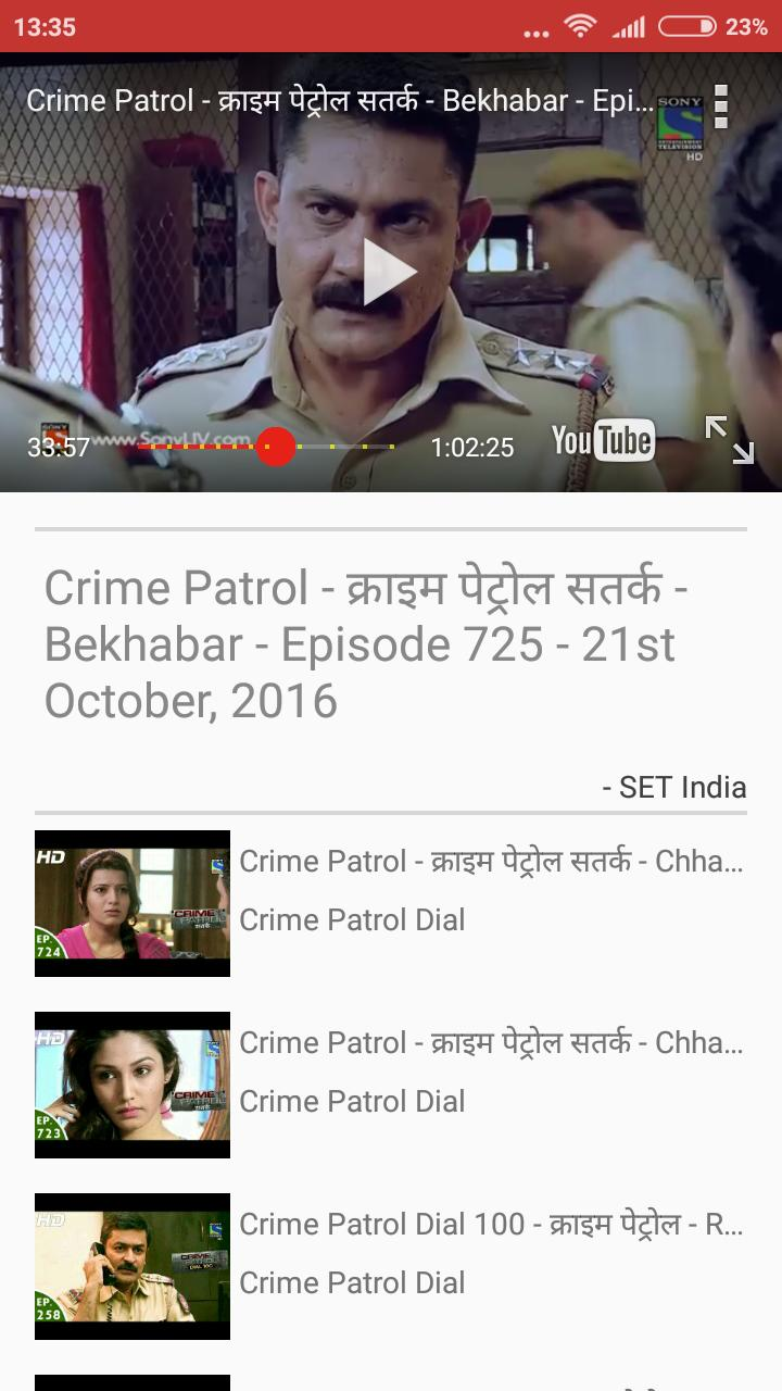 Crime Patrol Dial Episode for Android - APK Download