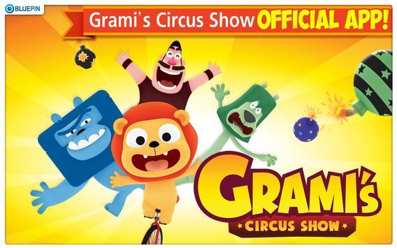 GRAMI's CIRCUS SHOW poster