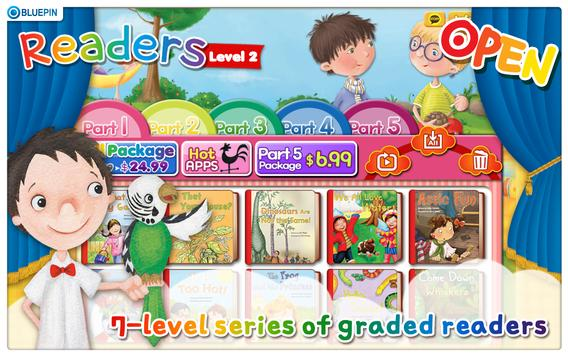 Readers Level 2 poster