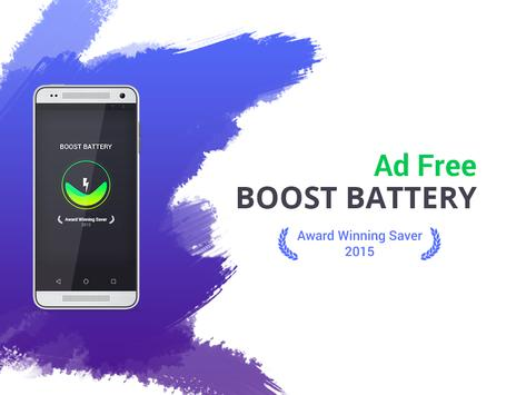Boost Battery Saver Free poster
