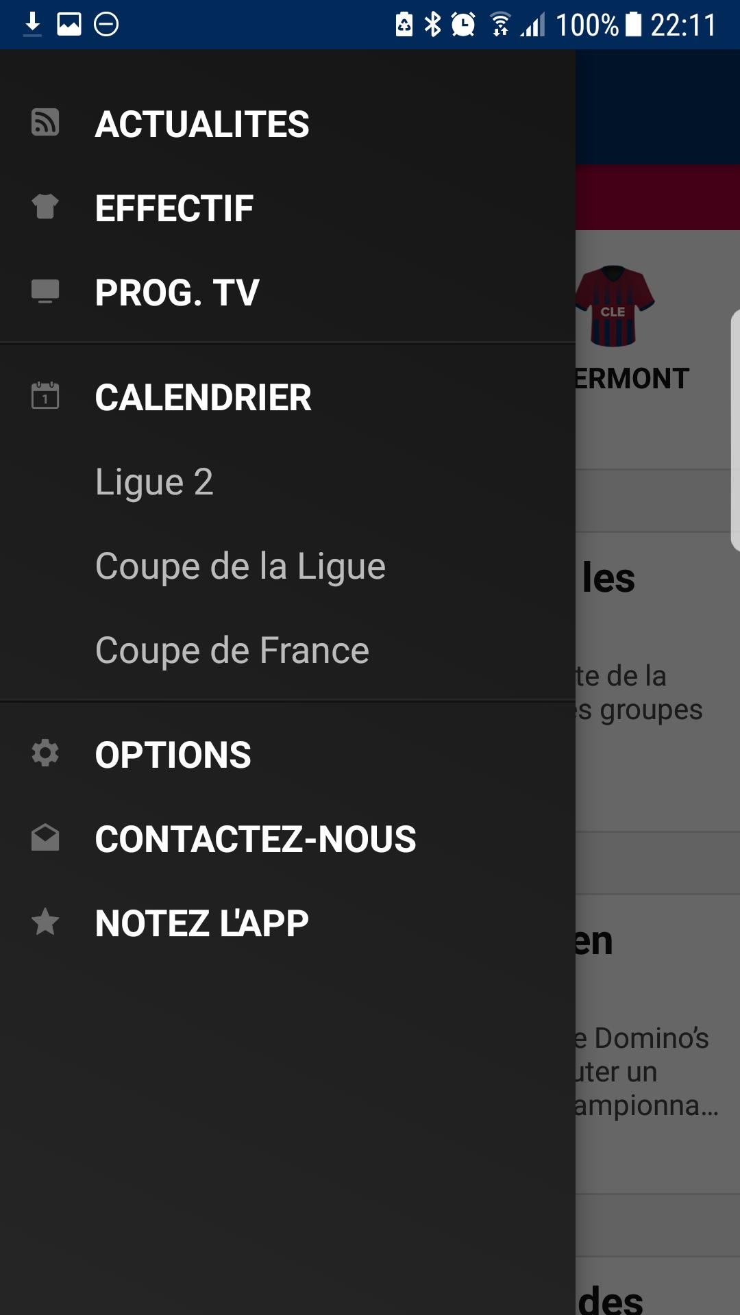 Calendrier Clermont Foot.Clermont Foot Live For Android Apk Download