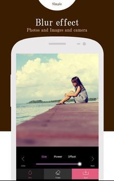 Blur foto-poster