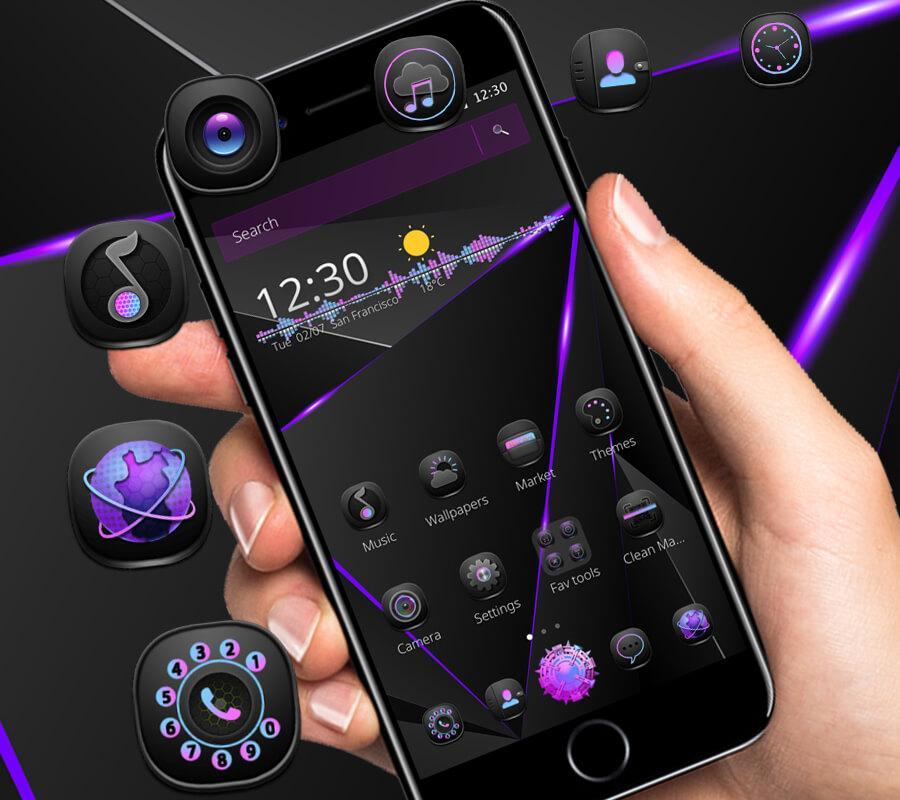 Cool Black Neat Theme for Android - APK Download